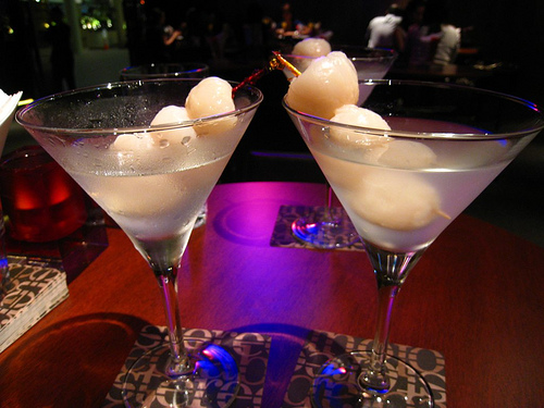 Pair this with our Lychee Ball Martini and you've got a complete ...